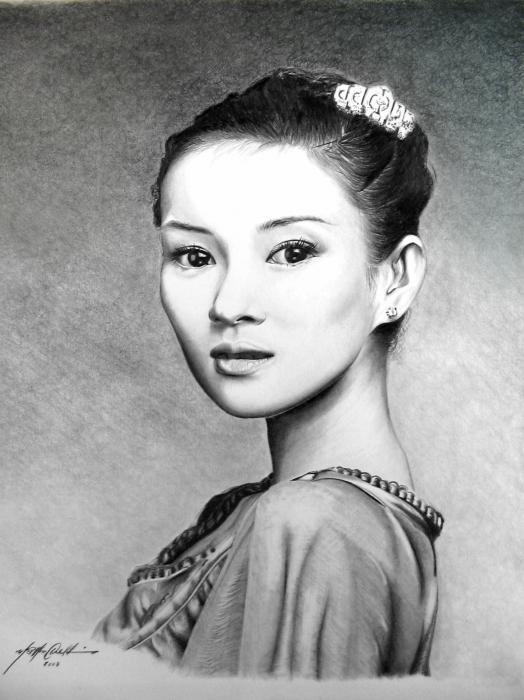 Zhang Ziyi par PencilPerfect
